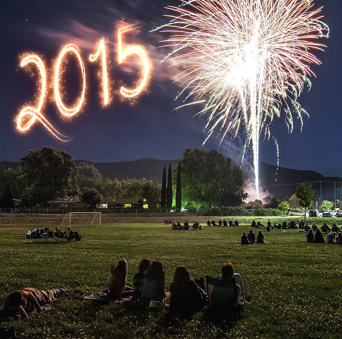 fireworks 2015 Ashland Oregon