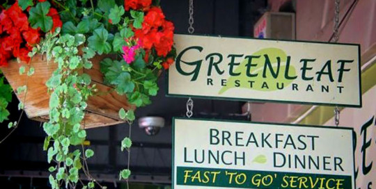 Green Leaf Restaurant in Ashland, Oregon